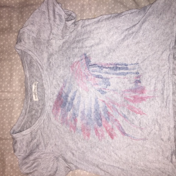 Abercrombie & Fitch Tops - High Low Shirt with Indian Headpiece Graphic 2/15$